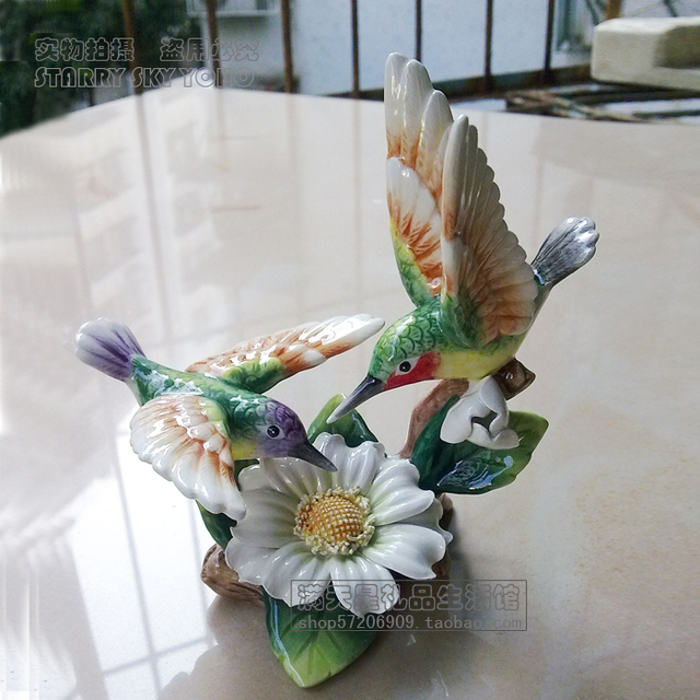 Cheap shuangsushuangfei hummingbird ornaments ceramic home cheap shuangsushuangfei hummingbird ornaments ceramic home accessories small ornaments wedding decorations wedding gift ideas junglespirit Gallery