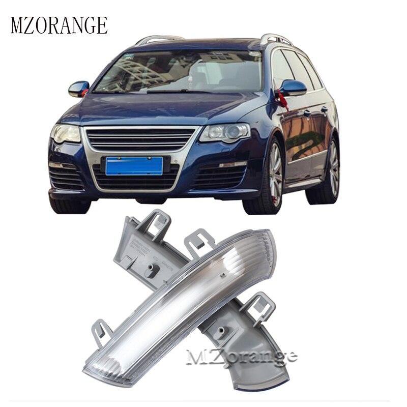 MZORANGE Car Rear View Mirror Indicator Auto LED Turn Signal Light Lamps For VW GOLF GTI JETTA MK5