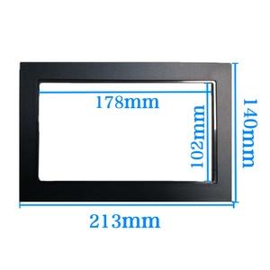 Image 3 - car frame for Universal 2 Din auto radio / android player Frame Retrofitting decorative framework 178 x 102mm panel No gap