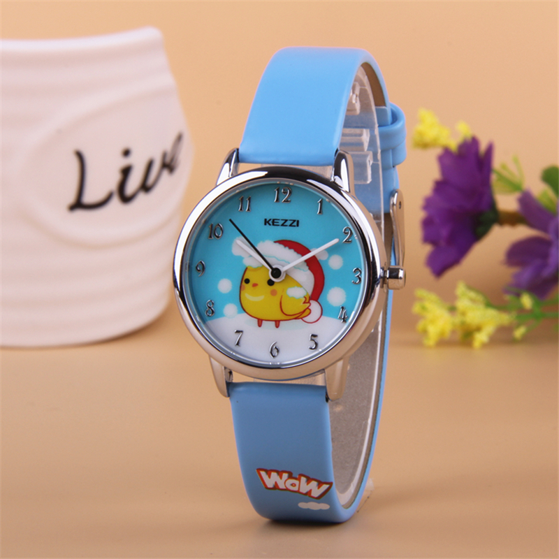 2016 kezzi top brand brand kids children fashion watches quartz analog analog cartoon for Watches brands for girl