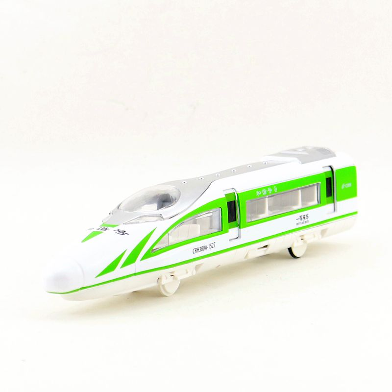 Diecast Metal Toy/Sound & Light Pull back Educational Car/China Railway High-Speed Train A380/For childrens gift or collection