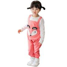 Cartoon Baby Infant Child Girl Boy Toddler Overalls Baggy Harem Pants Romper