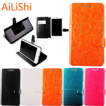 AiLiShi For Fly Nimbus 1 2 3 7 8 9 FS 505 FS505 451 452 501 454 509 Phone Case Holder With Card Slot Flip Leather Case 5 Colors