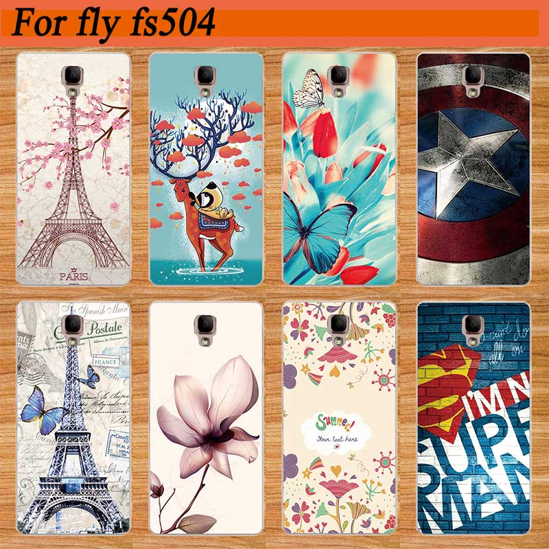 Newest Patterns Arrival Case For Fly FS504 Cirrus 2 SOFT TPU Cover Popular  Colored Printing For FLY FS 504 tpu Case Cover Shell 4f11f255a1b3