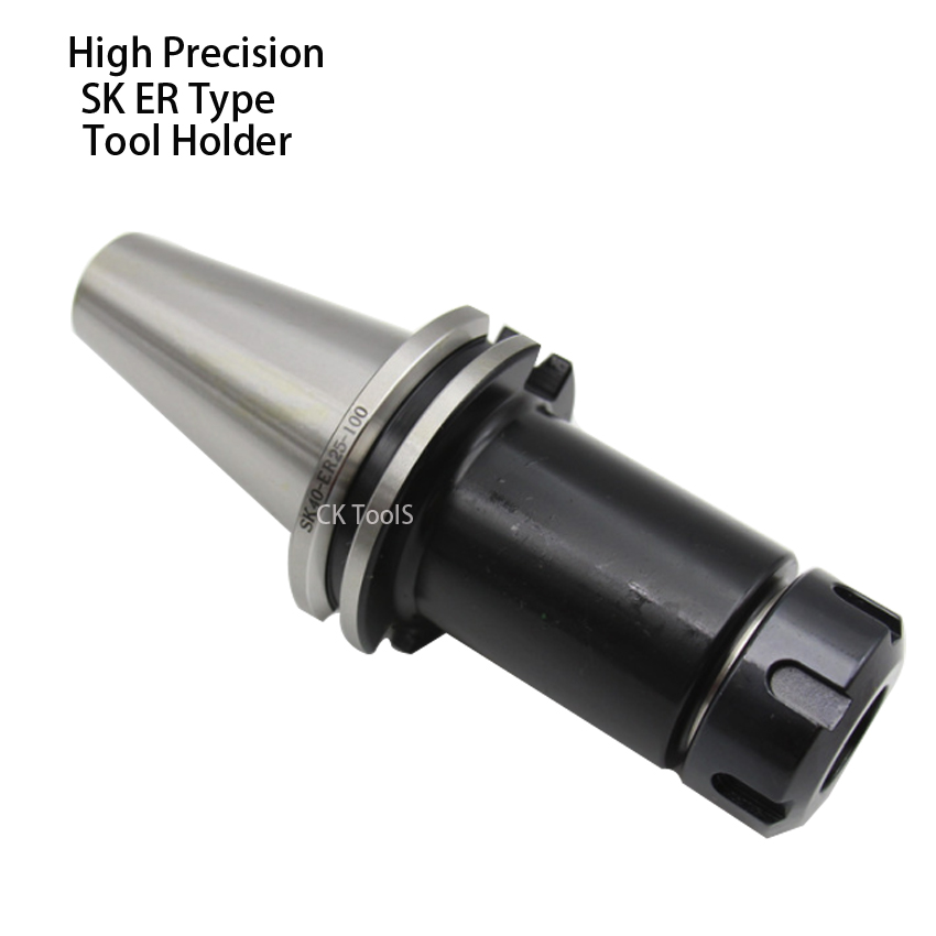 high precision SK40 ER16 ER25 ER20 ER Tool Holder din69871 CNC machine Drill Chuck Toolholder Milling cutter collet chuck er20 collet motor shaft chuck er er11 er16 er25 er32 spindle extension rod tool holder cnc milling drill chuck b10 12 18 jt2 6