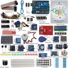 SunFounder RFID Starter ערכת עבור Arduino Uno R3 מגה ננו המעגלים מגשר חוטים חיישנים V2.0