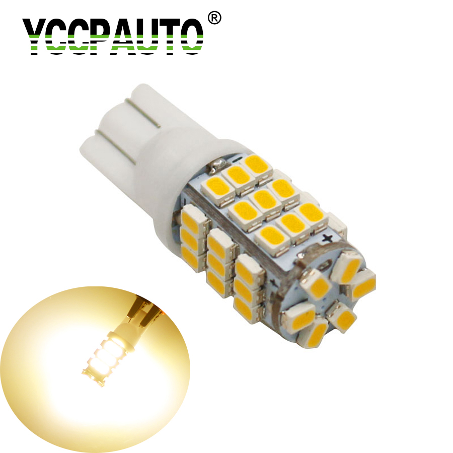 10X T10 1210 RV Trailer 12V LED Lights Bulbs 42 SMD 1206 6000-6500K Xenon White