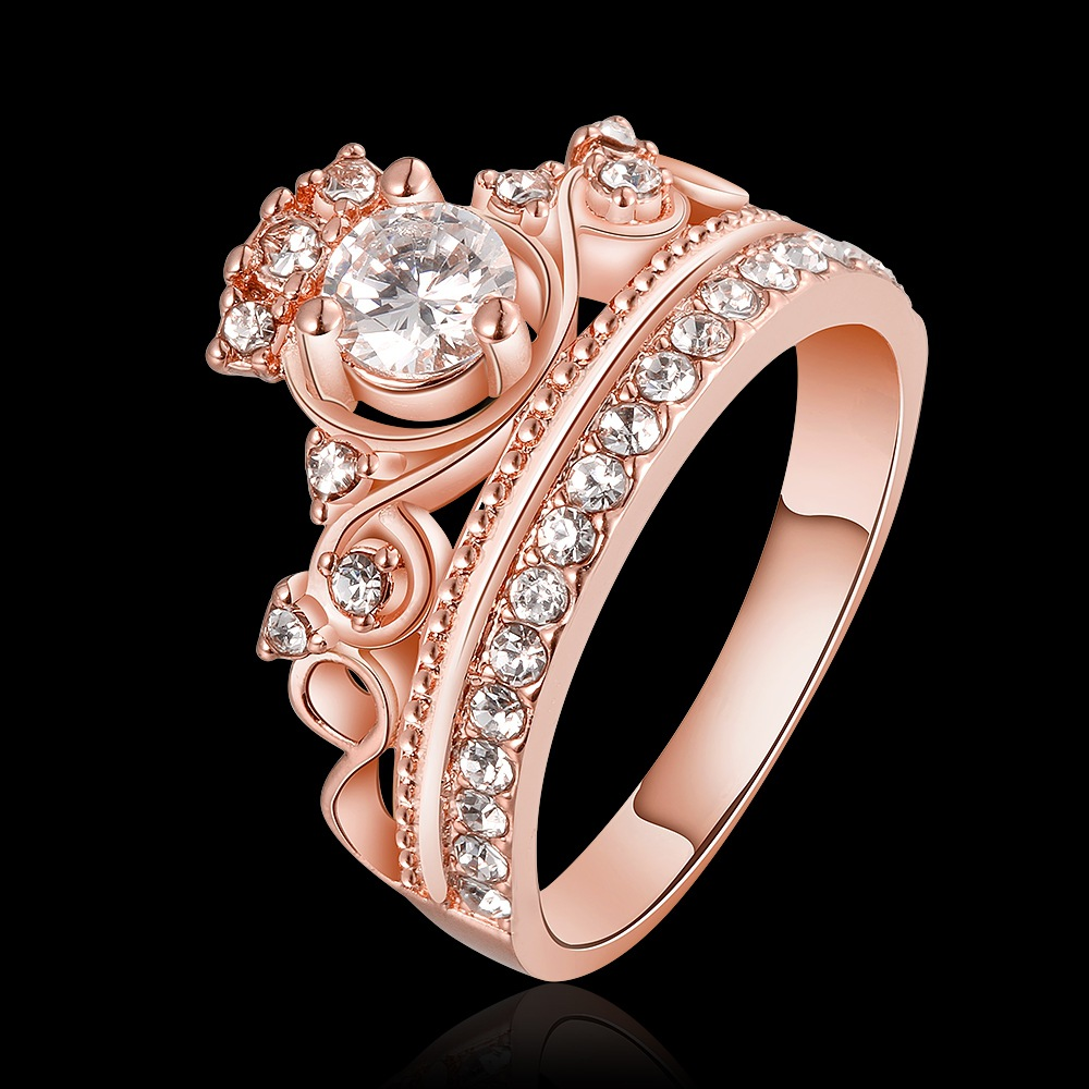 49a31a135976d0 ... coupon jinse women hot sale my princess queen crown engagement ring  charm zircon ring the adjustable