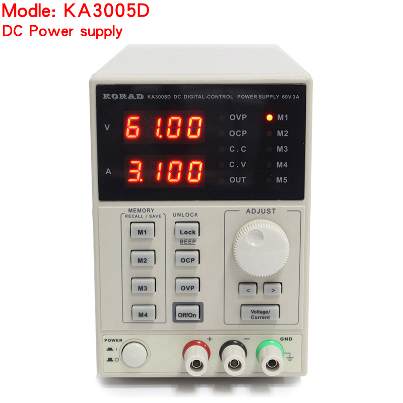 KORAD KA3005D high precision Adjustable Digital DC Power Supply 4Ps mA 30V/5A for scientific research service Laboratory kuaiqu high precision adjustable digital dc power supply 60v 5a for for mobile phone repair laboratory equipment maintenance