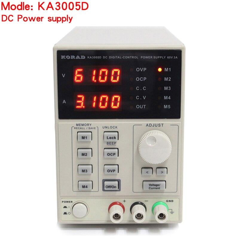 KORAD KA3005D High Precision Adjustable Digital DC Power Supply 4Ps MA 30V 5A For Scientific Research