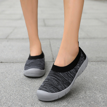 Fashion womens shoes Womens casual Fly weave Flat loafers Breathable D30