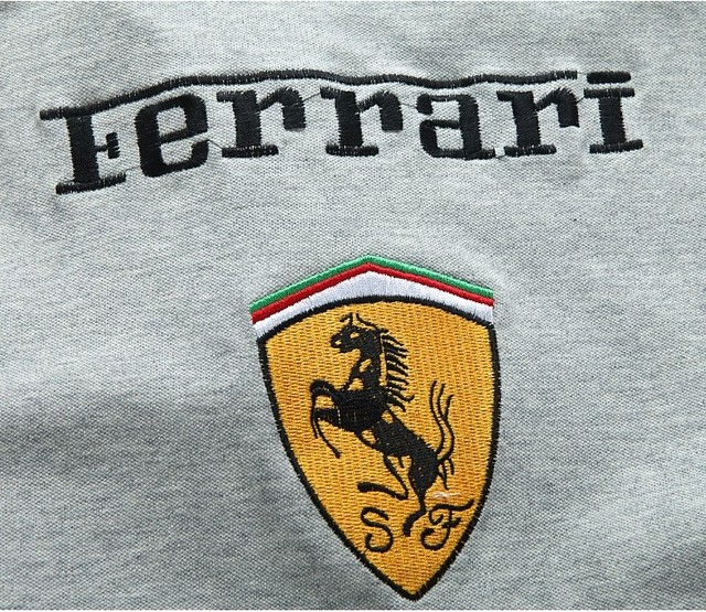 Ferrari Print T-shirt For Kids (3 Colors)