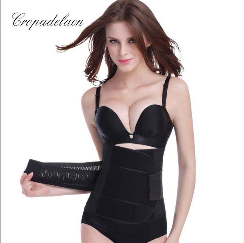 Luxury Women Breathable Slimming wraps Body Shaper Tummy Control Sashes Shapewear Waist Trainers Corsets MR054 1