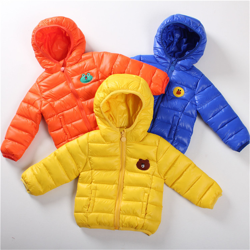 Jacket For A Boy 2017 New Winter Children Cotton Windbreaker Children Jackets Warm Coat Hooded Childrens Winter Clothes Jackets