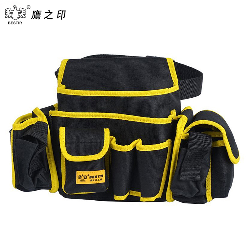 BESTIR 3PCS Pouch Set  Oxford Tool Bags  Waterproof Case  Adjustable Waist Belt 05142