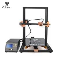 2018 Newsest TEVO Tornado Полностью Собранный 3d принтер 3D печать 400*300 мм Большая область печати 3d Принтер Комплект