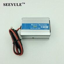 1 шт. SEEYULE DC 12 В в ПЕРЕМЕННОЕ 110 В 220 В 150 Вт Силы Автомобиля инвертор Адаптер Конвертер с USB Зарядное Устройство 0.5A для DVR Ноутбук Путешествия пикник