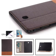 цена на T550 T555 Luxury case For Samsung Galaxy Tab A 9.7 SM-T550 SM-T555 SM-P550 P555 9.7'' Smart Stand Pu Leather Tablet Cover Case