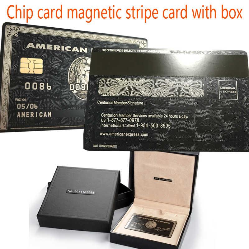 Chip Kartu Magnetic Stripe Card Dengan Kotak Kartu American Express Cardka Kustom Pribadi Gratis Pengiriman Magnetic Stripe Card Custom Magnetic Cardscustom Magnetic Stripe Cards Aliexpress