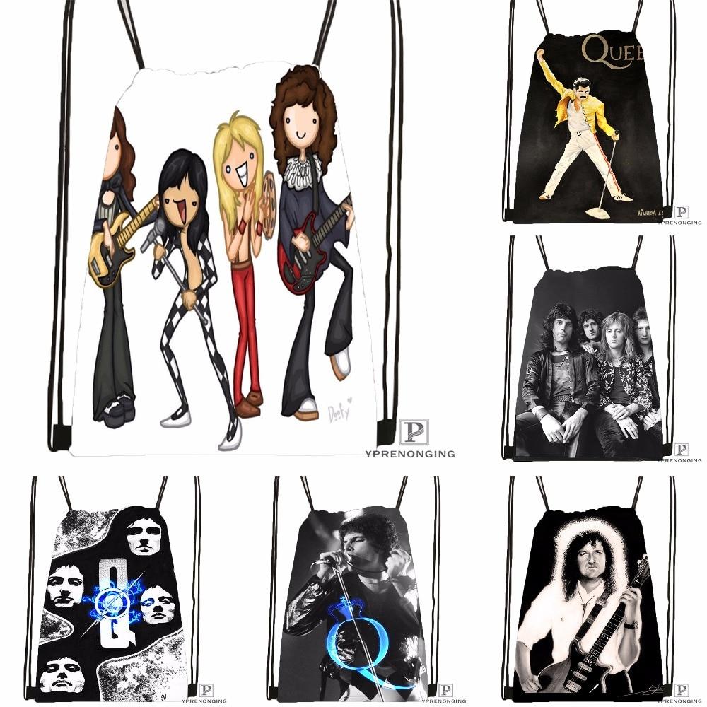 Custom Queen Drawstring Backpack Bag Cute Daypack Kids Satchel (Black Back) 31x40cm#180531-04-69
