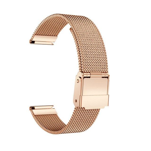 f237368b9e4a Correa de reloj de acero inoxidable de 14mm para el reloj de pulsera de  Metal de
