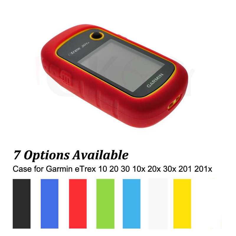 Outdoor Hiking Handheld GPS Navigator Accessories Silicon Rubber Case Skin for Garmin eTrex 10 20 30 10x 20x 30x 201 201x 309x купить garmin etrex 20 б у