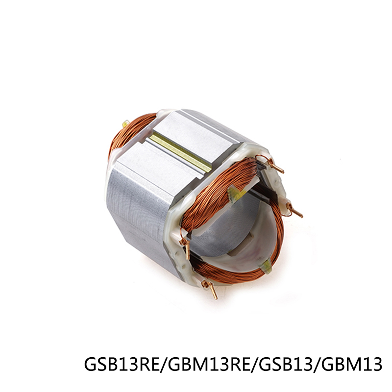 Electric Hammer Drill Stator Coil For Bosch GSB13RE/GBM13RE/GSB13/GBM13, Power Tool Accessories