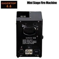 Gigertop TP-T159 Stage Mini Máquina de Fogo DMX/Controle De Potência de 3 Pinos XLR DMX IN/OUT Socket Endereço de Mergulhos interruptor de 2 Lidar Com 110 V/220 V