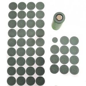Image 4 - 1000 pcs 1 S Batteria agli ioni di 21700 Li Isolamento Guarnizione Carta Orzo Batteria Delle Cellule Isolante Colla Patch Elettrodo Isolato pastiglie