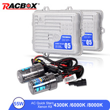 0.2 Second Fast Quick Start 55W 12V HID Xenon Single Conversion Headlight Kit H1 H3 H7 H4-1 H8 H9 H11 HB3 HB4 4300K 6000K 8000K стоимость