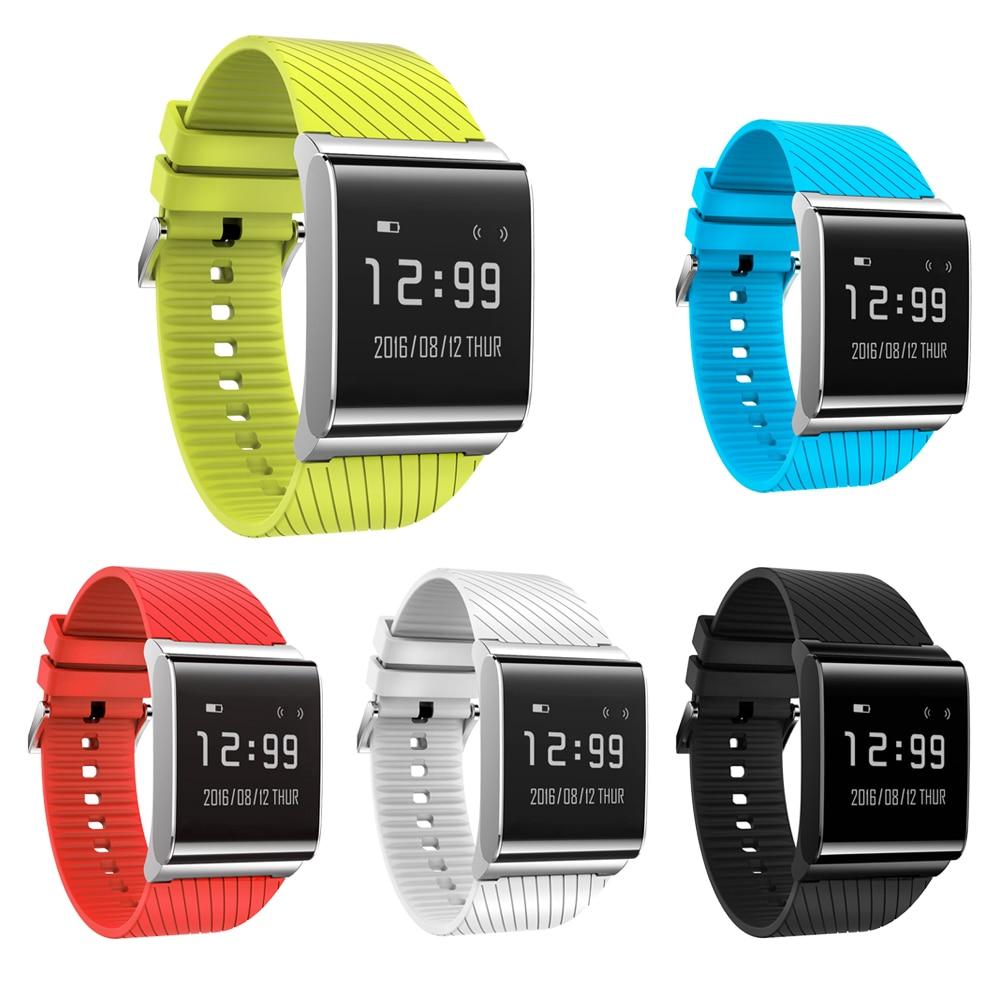 imágenes para Moda Elegante Pulsera Bluetooth 4.0X9 Plus BLE 4.0 Muñequera Reloj Inteligente para Android/ios Teléfono Inteligente Sistema