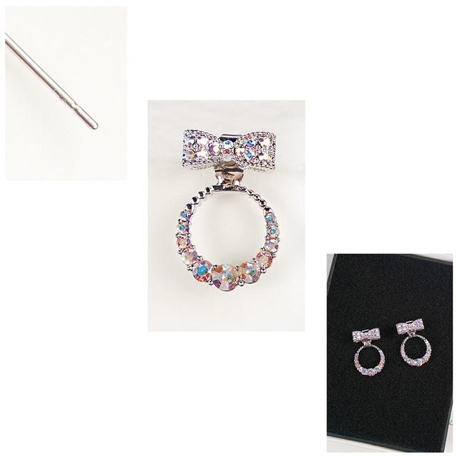 Butterfly Bow Stud Earrings For Women