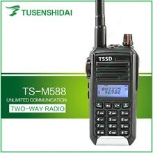 חם למכור קצר גל VHF 66 88Mhz משדר רדיו ווקי טוקי TS M588