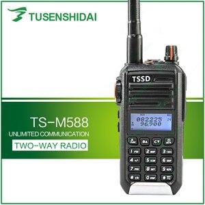 Image 1 - حار بيع قصيرة موجة VHF 66 88Mhz لحم الخنزير جهاز الإرسال والاستقبال اللاسلكي اسلكية تخاطب TS M588