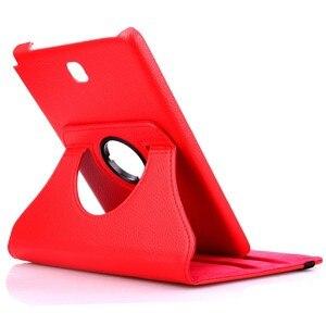 Чехол для планшета Huawei MediaPad T3 10 (9,6 дюйма) AGS-L09 AGS-W09 Honor Play кожаный чехол с откидывающейся откидной крышкой и вращающимся на 360 градусов кронштейном
