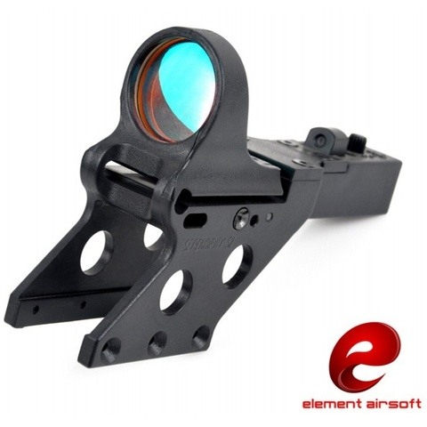 elemento airsoft reflex red dot sight para hi capa seemore ex183 escopos riflescope optics caca