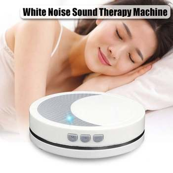 Smart Sleep Therapy Machine 2 Soothing White Noise Sound Sleep Instrument Machine Sleep Therapy Sound Relax Lamp Timing Function