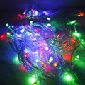 8M LED New Year lights flashing lights the Christmas festive arrangement decorative lights Restaurant Club neon stars Wholesale