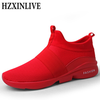 HZXINLIVE 2019 New Autumn Women Shoes Ankle Sneakers Red Sock Men Fashion Sneaker Casual White Shoes Size 35-46 Zapatillas Mujer