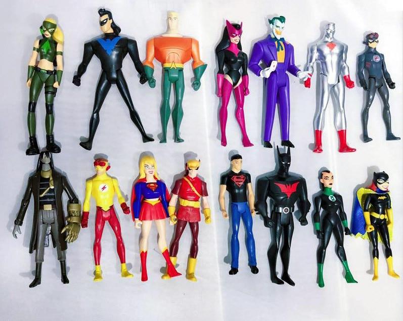 DC Comic Justice League Unlimited JLU Batman The Joker Black Suit Loose Figure