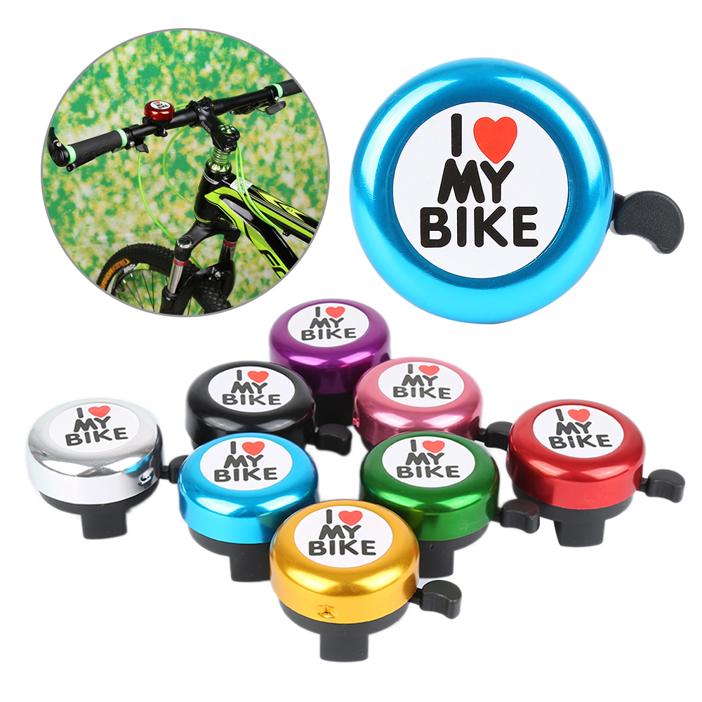 Plastic Bicycle Bell Outdoor Right Hand Bike Handlebar Clear Sound Loud Cycle Horn Alarm Warning Ring Bike Accessory Bicicleta