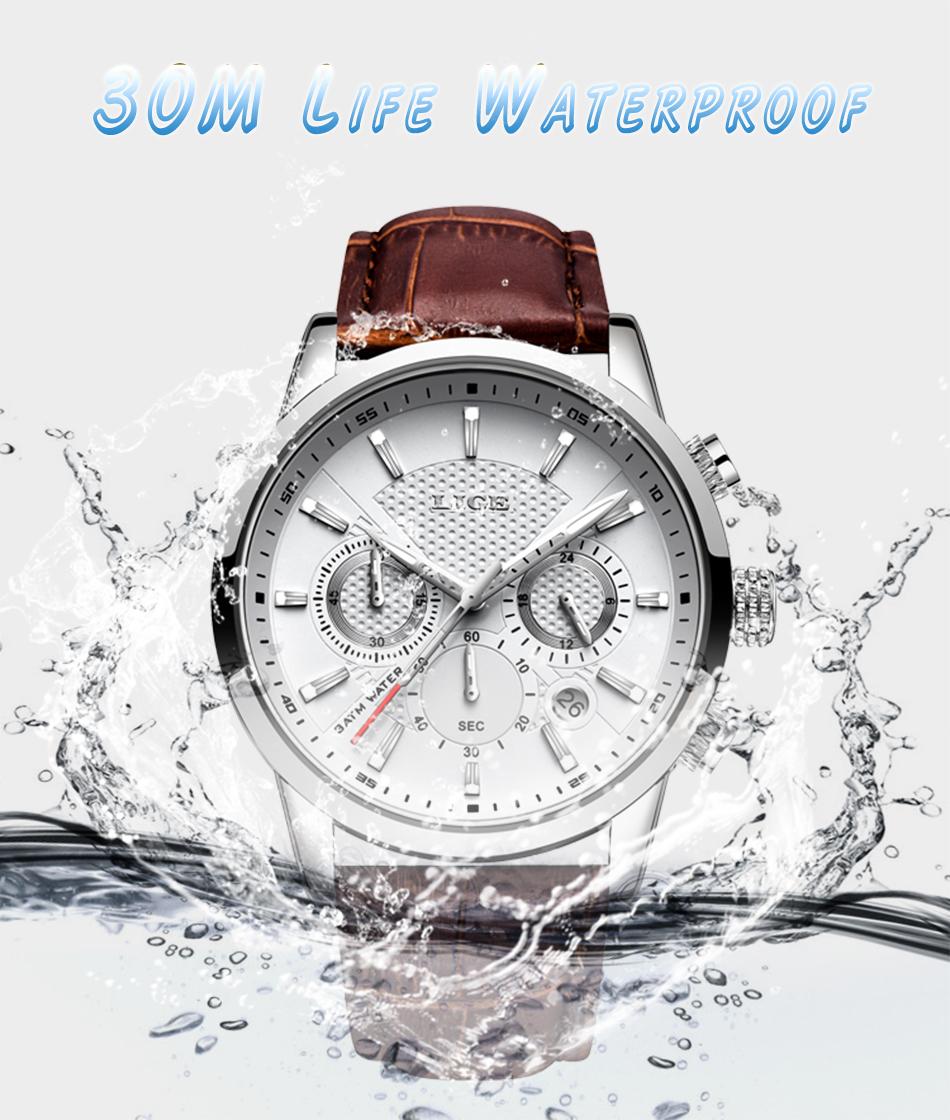 Reloj LIGE deportivo de moda 5