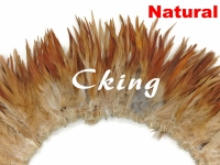 1kgs 15 20cm rooster saddle feather strungs Natural color Cock neck feather rolls trims strips for cloth accessorys