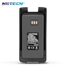 NKTECH Walkie Talkie 7.4V 2800mAh Li-ion Battery Waterproof For TYT Tytera DMR MD-390 MD-390GPS Digital Mobile Radio Transceiver
