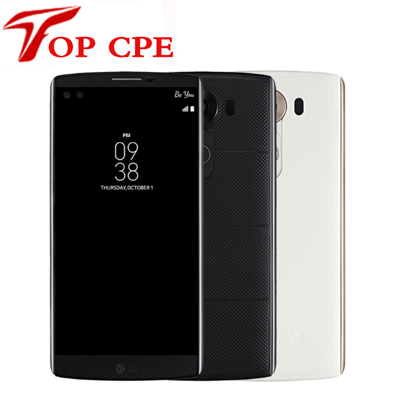 bilder für LG V10 H900 H901 4G LTE Android Handy Hexa Core 5,7 ''16.0MP 4 GB RAM 64 GB ROM 1080 P 2560*1440 Refurbished Smartphone