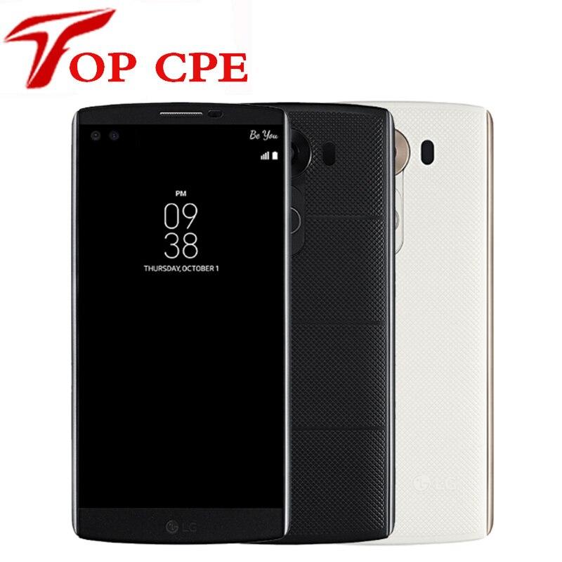 LG V10 H900 H901 4G LTE Android Teléfono Móvil Hexa Core 5.7 ''16.0MP 4 GB RAM 6