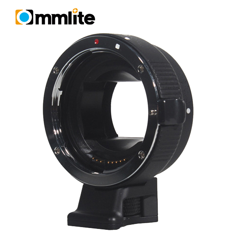 BLACK Commlite Auto Focus for EOS-NEX EF-EMOUNT FX for Canon EOS EF-S Lens to for Sony E Mount NEX A7 A7R Full Frame commlite auto focus for eos nex ef emount fx lens adapter for canon eos ef s lens to sony e mount nex a7 a7r full frame