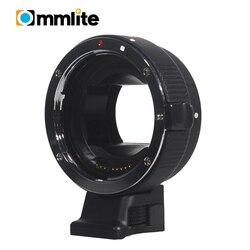BLACK Commlite Auto Focus for EOS-NEX EF-EMOUNT FX for Canon EOS EF-S Lens to for Sony E Mount NEX A7 A7R Full Frame