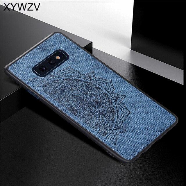 Dành cho Samsung Galaxy Samsung Galaxy S10 Lite Ốp Lưng TPU Mềm Dẻo Silicone Vải Họa Tiết Cứng PC Ốp Lưng Điện thoại Samsung S10 Lite Bao dành cho Samsung S10e