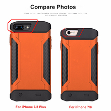 NTSPACE Backup Power Bank Pack For iPhone 6 6S 7 8 Back Clip Battery Charger Case For iPhone 6 6S 7 8 Plus Battery Case